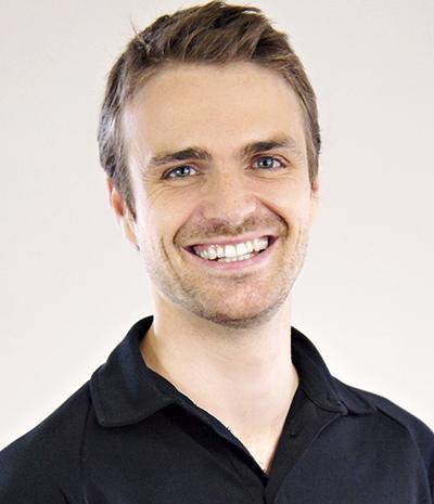 Justin Perreault, ostéopathe Clinique Ressource Vitale
